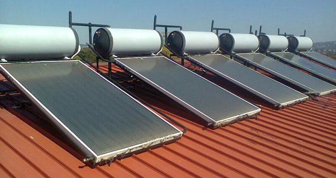 Afri-Market - Hot Water - Solar Geysers Residential